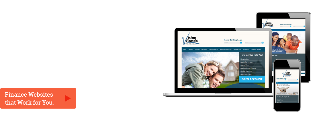 Secure and Functional Financial Websites