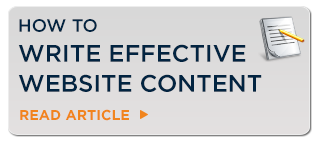 Writing effective Website Content
