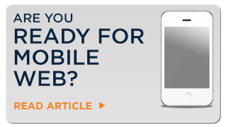 Are you ready for Mobile Web?